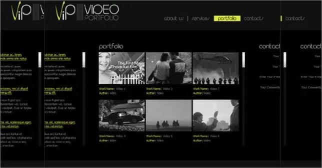 Video Website Templates Free 11