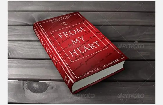 book cover template  264