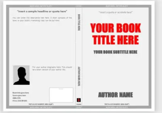 book cover template  641
