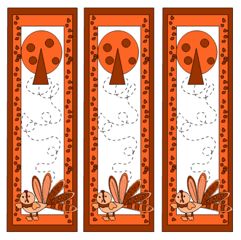 bookmark template 4541