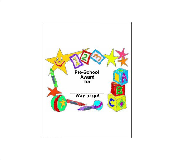 certificate format 3461
