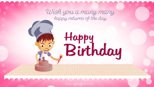 happy birthday template psd 59641