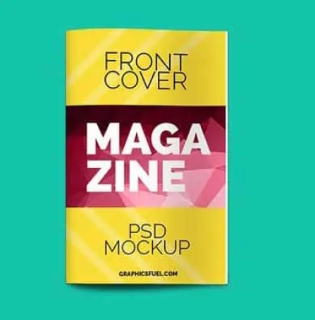 magzine cover template 164