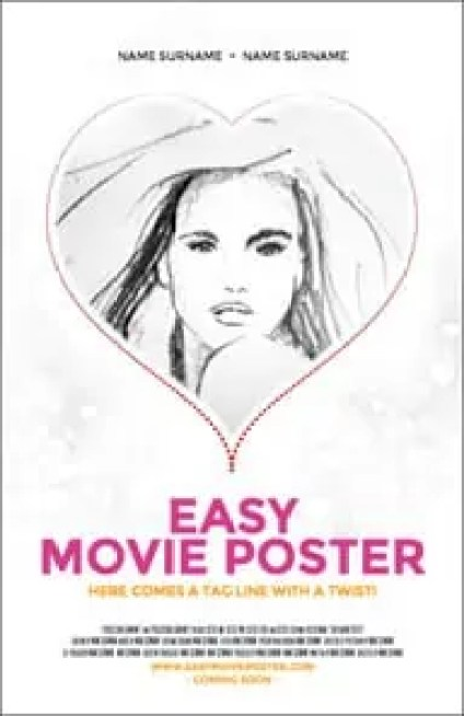 movie poster template 941