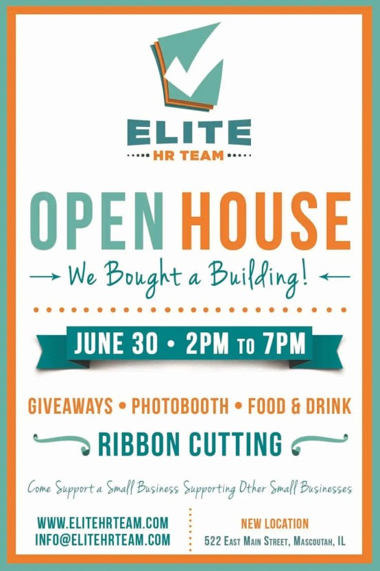 6  open house flyer templates