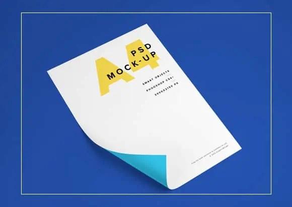paper mockup 7946