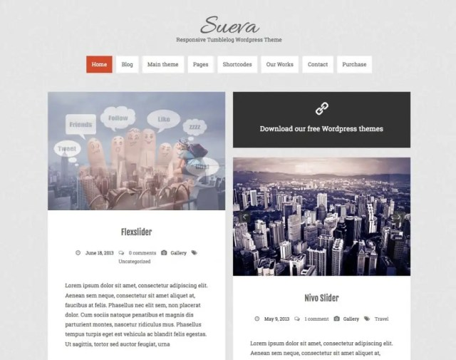 Free WordPress Themes For Tech Blog 741