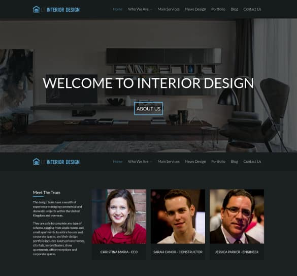 Interior Design WordPress Theme Free Download 61