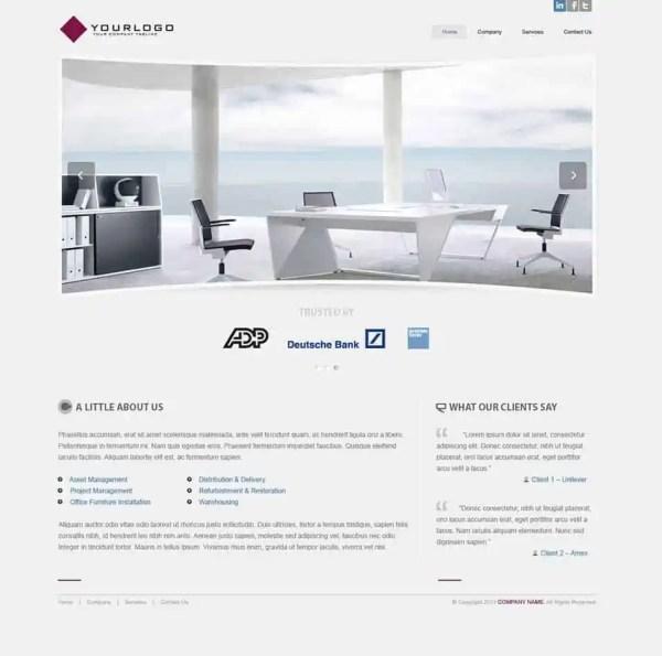 Interior Design WordPress Theme Free Download 941