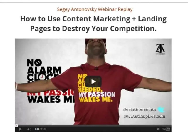Video Landing Page Templates 346