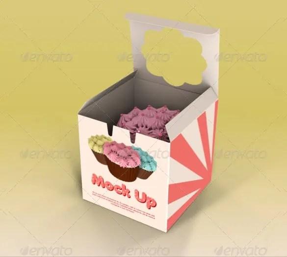 cake box template 46