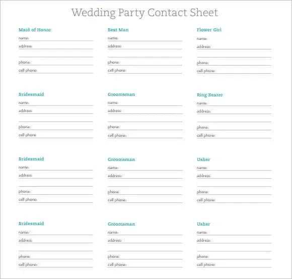 contact sheet template 10