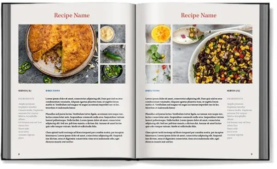 cookbook template 3641