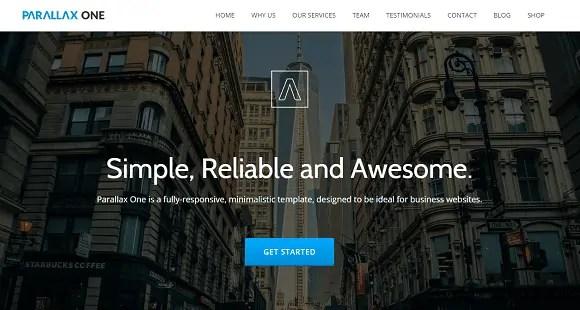 html5 blog templates 264