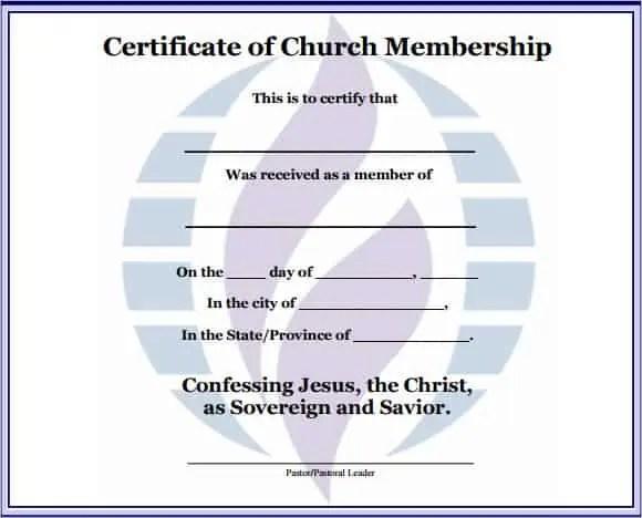 Sample Membership Certificate Example Individual Membership
