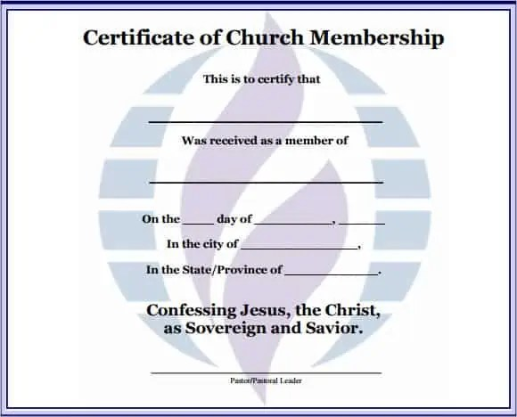 Membership Certificate Templates  Website Wordpress Blog