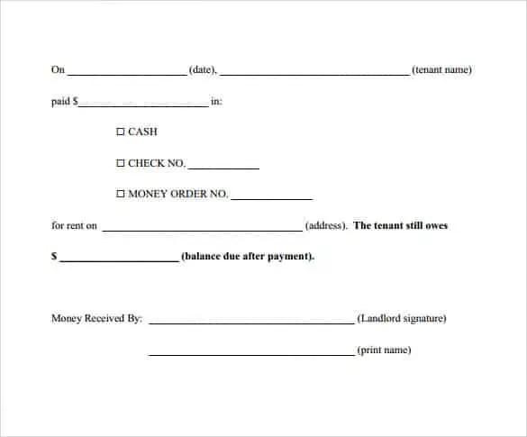 6+ Payment Receipt Formats   Website, Wordpress, Blog