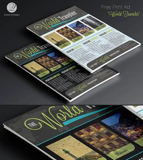 photoshop advertisment templates 660