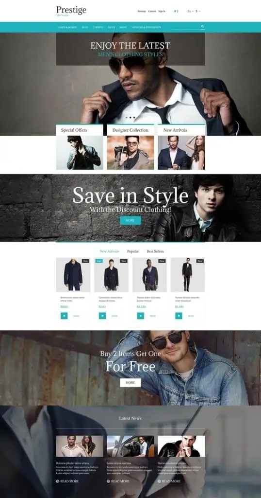 prestashop themes free download 6461