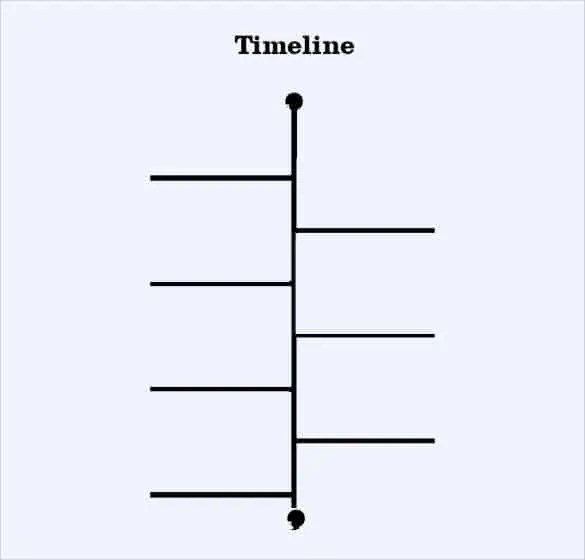 timeline template for kids 594
