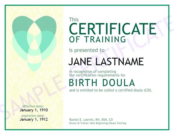 6+ Training Certificate Templates - Website, Wordpress, Blog