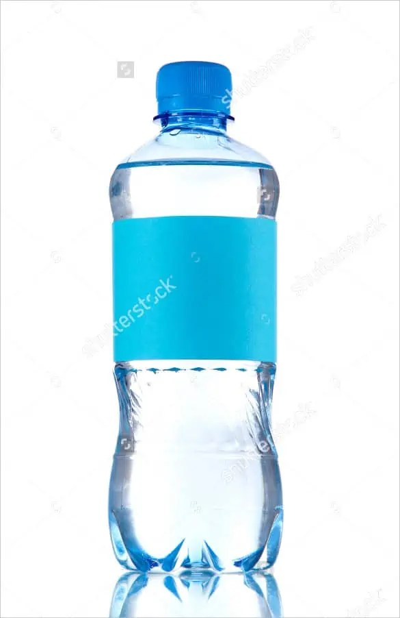 water bottle mockup 660