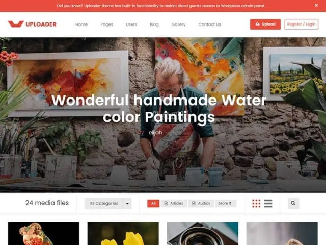 Content Sharing WordPress Themes 82
