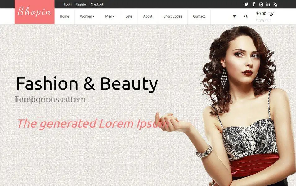Ecommerce HTML5 Templates 22