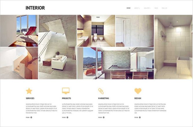 Interior Design WordPress Themes 22