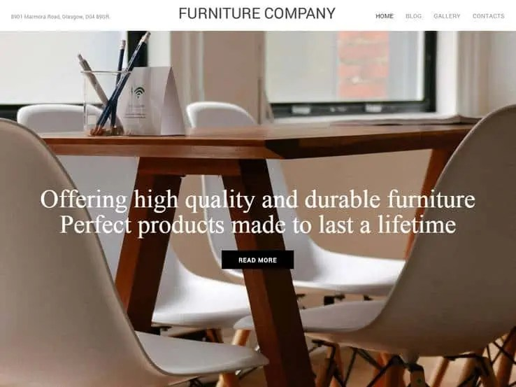 Interior Design WordPress Themes 900