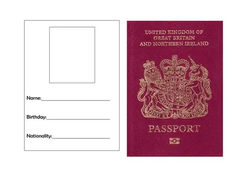 passport photo print template - templates front website wordpress blog templates