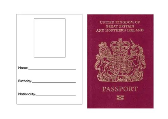 passport template 82