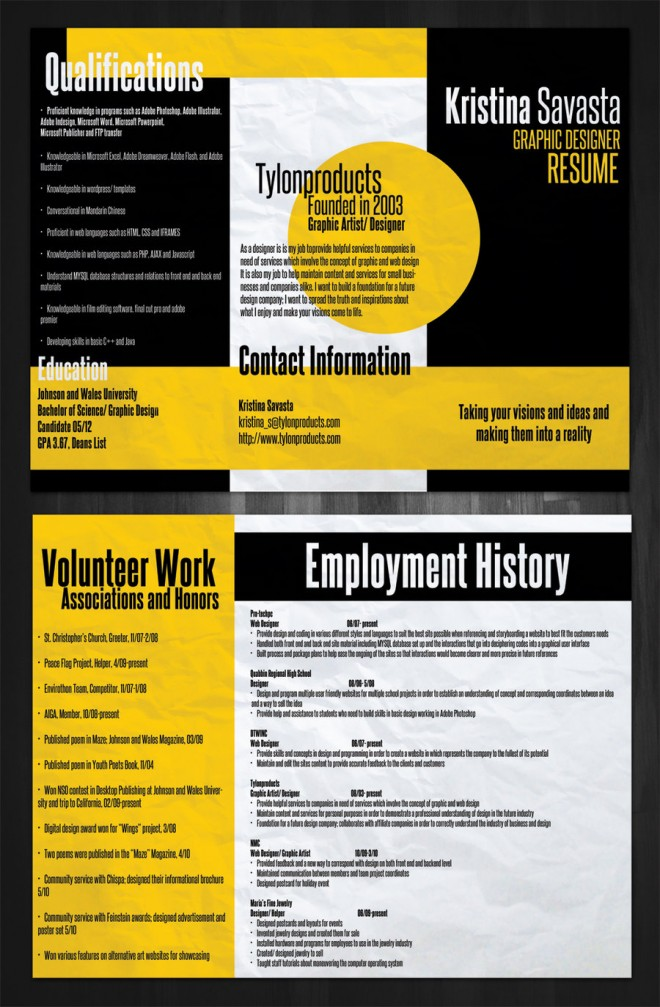 free resume templates colorful
