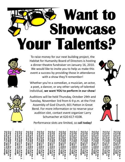 Amazing talent show flyer templates word excel samples for Talent show certificate template