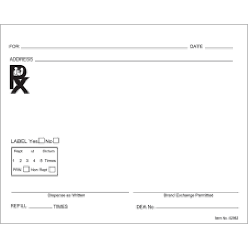 Doctor Prescription Templates - Word Excel Samples