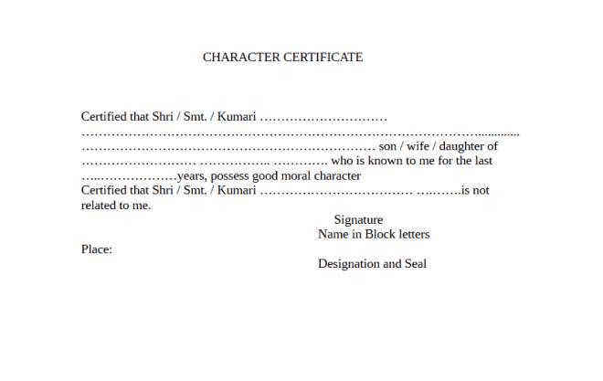 Certificate of good moral character sample doc images certificate of good moral character sample doc image collections certificate of good moral character sample doc yelopaper Gallery