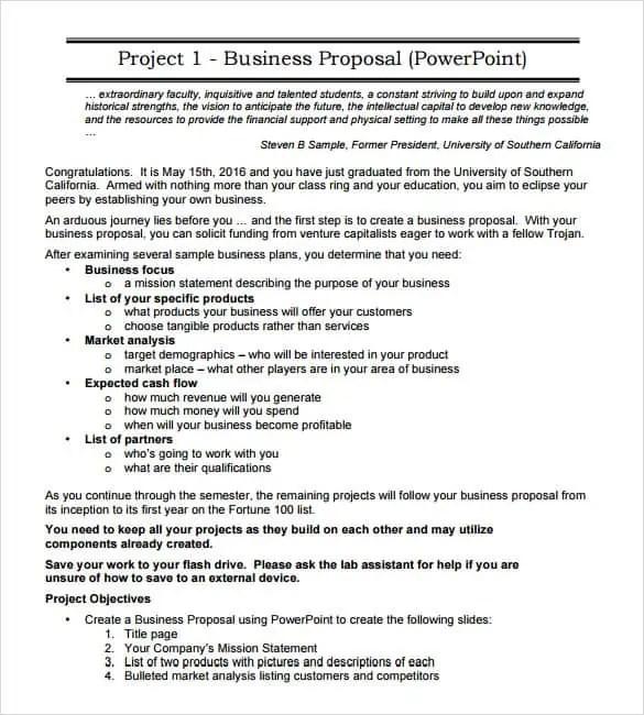 Work Proposal. 8+ Job Proposal Form Samples - Free Sample, Example ...