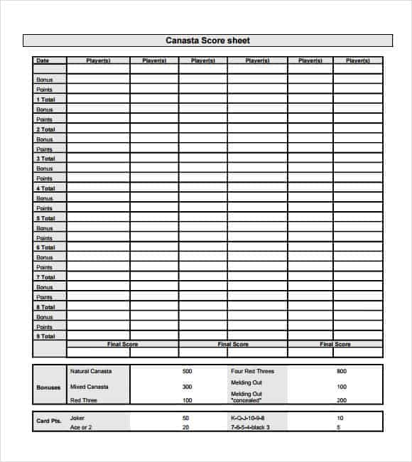 Score Sheets PrintableSheetsPrintable Coloring Pages Free