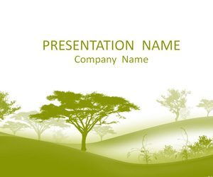 Trees PowerPoint Template