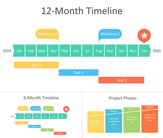 The store will not work correctly in the case when cookies are disabled. 12 Month Timeline Powerpoint Template Templateswise Com