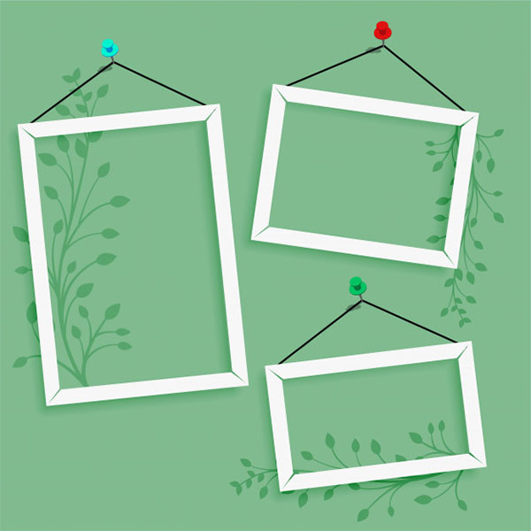 Free Photo Frame Template
