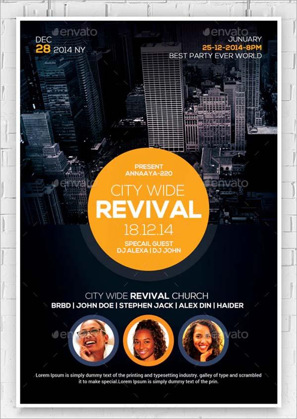 Revival Church Flyers Bundle