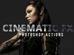 Cinematic Photoshop Actions