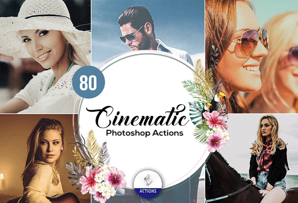 Cinematic Photoshop Best Pack Actions