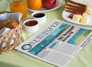 Free Newspaper Mockups