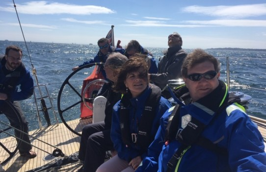 Sailing day in may 2019