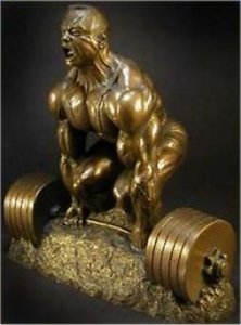 Powerlifting Trophy