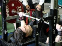 Teen Powerlifting Bench Press