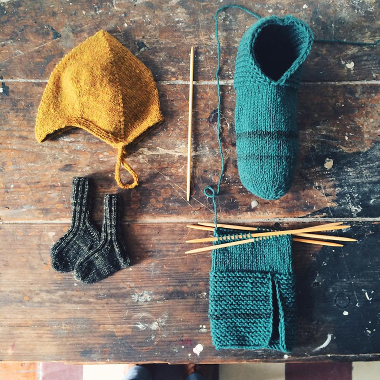 A Year Of Simple House Slippers Temple Of Knit