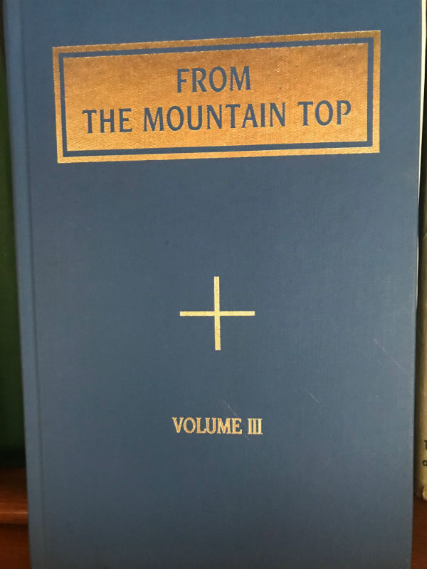 From the Mountain Top, Volume Three